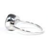 8mm Circle Simple Band Cremation Ring in Sterling Silver