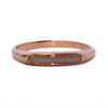 Smooth Band Cremation Ring in 14K Rose Gold, size 7 (Imperfection in Band)