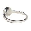 Triple Drop Accent Cremation Ring in Sterling Silver