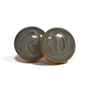 14/20 Yellow Gold Filled Circular Stud Cremation Earrings