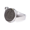 Angel Wing Cremation Ring in Sterling Silver