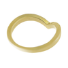 Chevron Companion Stacking Ring in 14K Yellow Gold