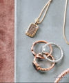 Cable Cremation Necklace in 14K Rose Gold