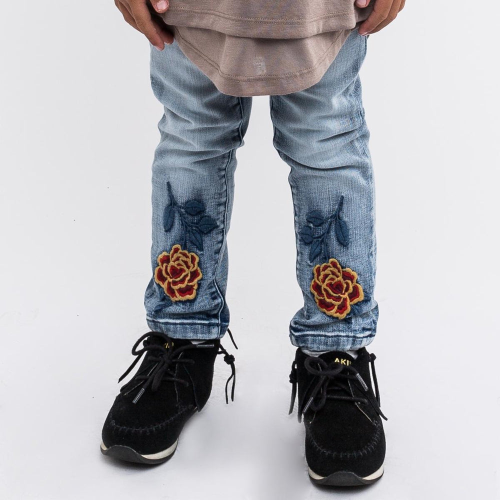 Haus of Jr Ettore Chainstitch Denim (Indigo)