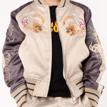 Haus of Jr JWyatt Souvenir Jacket (Creme/Light Plum)