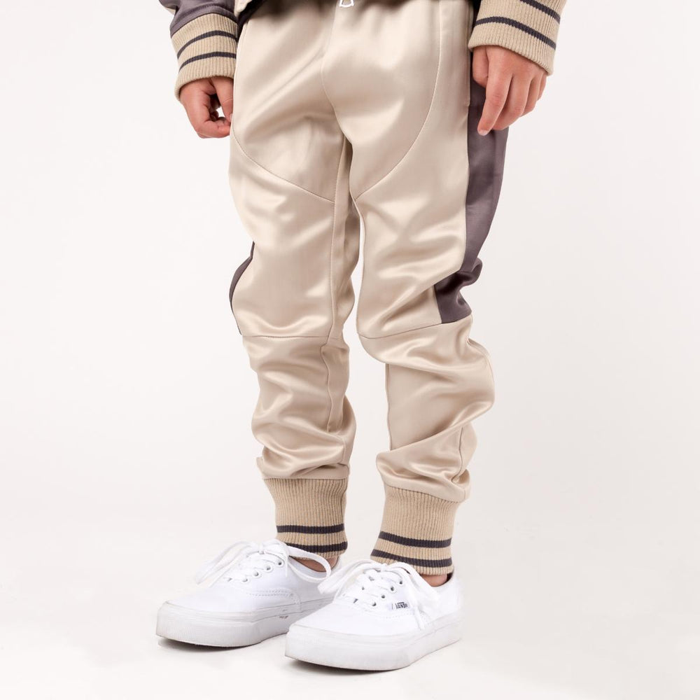 Haus of Jr JWyatt Wyatt Souvenir Pants (Creme/Light Plum)