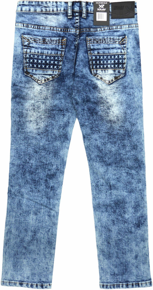 Xray Jeans Studded Kids (Medium Blue)