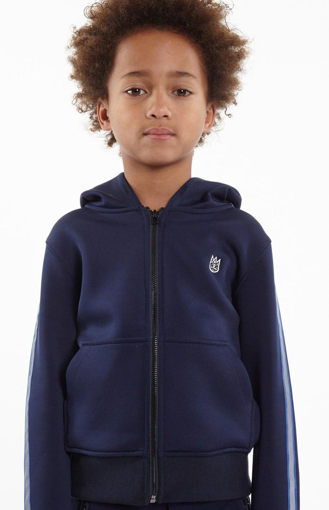 Cult of Individuality Kids Scuba Stripe Hoody (Navy)