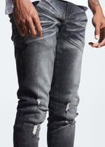 Crysp Pacific Denim (Black Stone Wash)