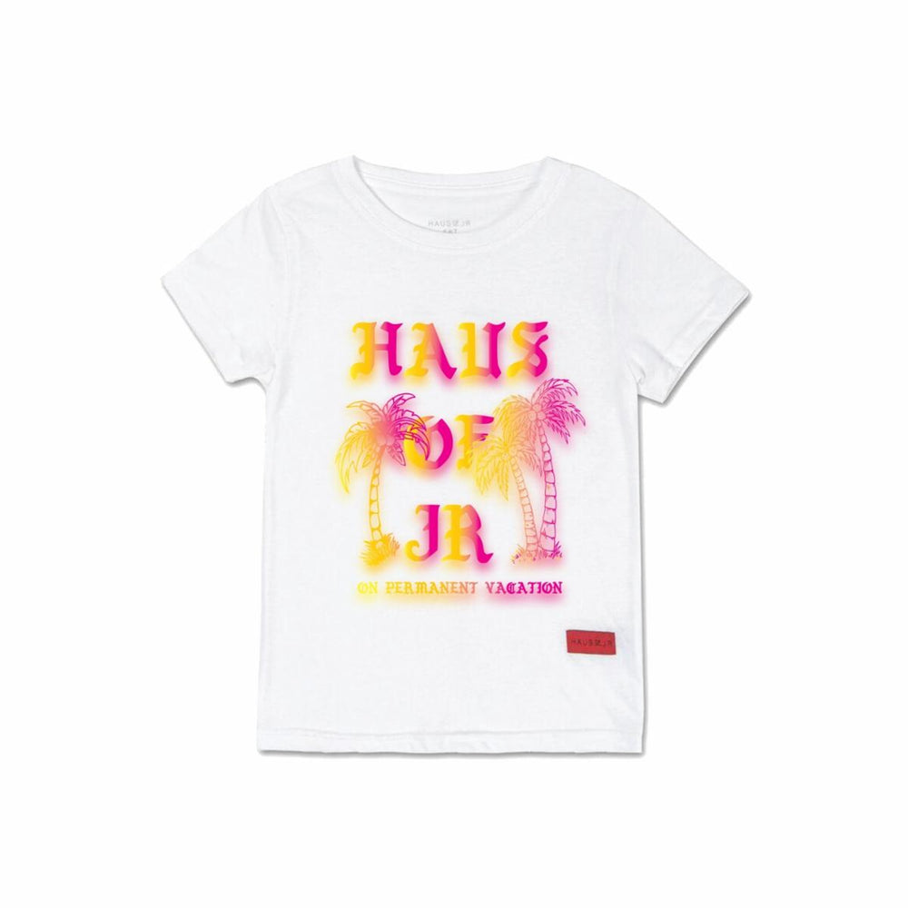 Haus of Jr Permanent Vacation Tee (White)