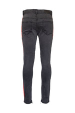 Homme + Femme Trademark Denim (Black and Orange)