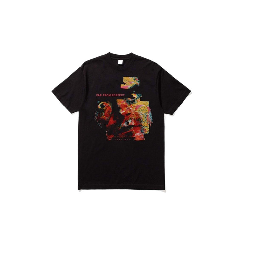 Full Clip Far From Perfect Tee (Black)