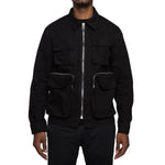 EPTM Herringbone Army Jacket (Black)
