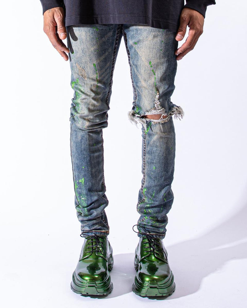 "Serenede ""Timeless Emerald"" Jeans"