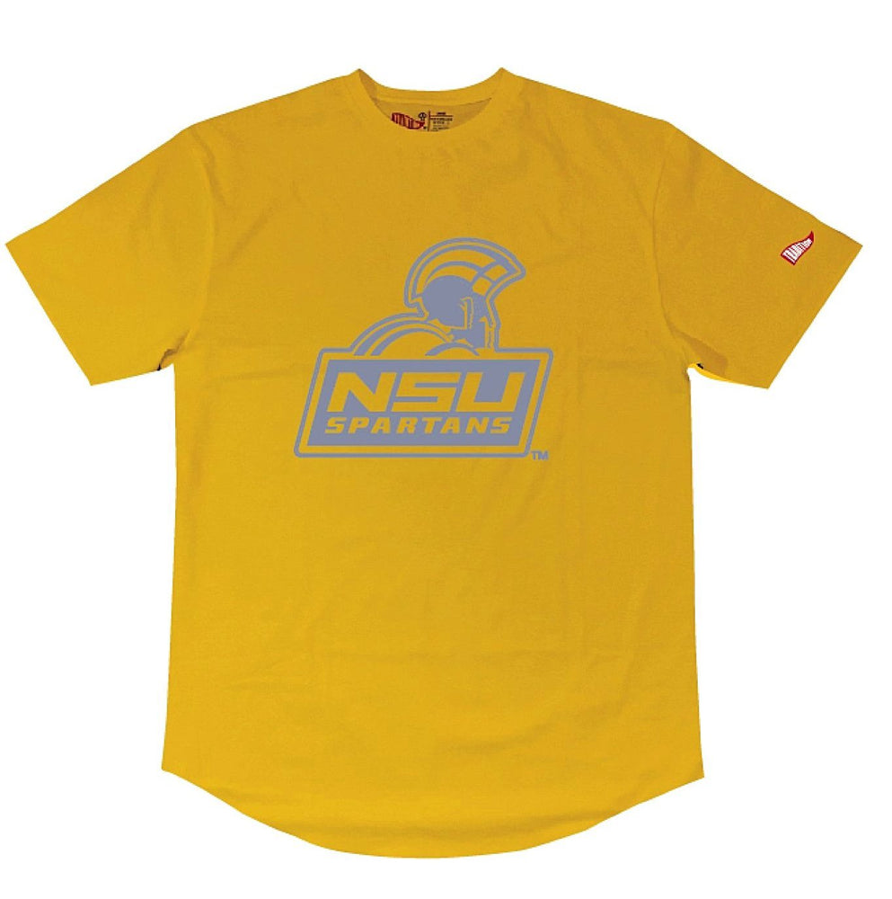 Norfolk State University Reflective Tee (Yellow)