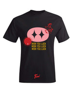 Tomi Get Fat Piggy Tee (Black)