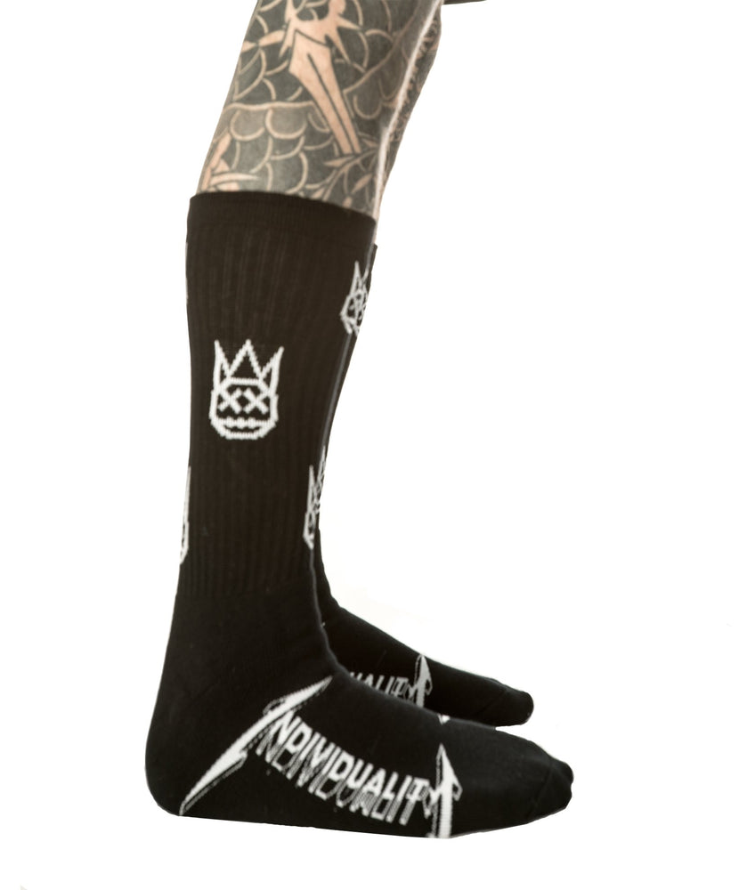 Cult of Individuality Shimuchan Logo Socks (Black)