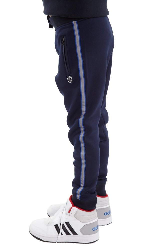 Cult of Individuality Kids Scuba Stripe Sweatpant (Navy)