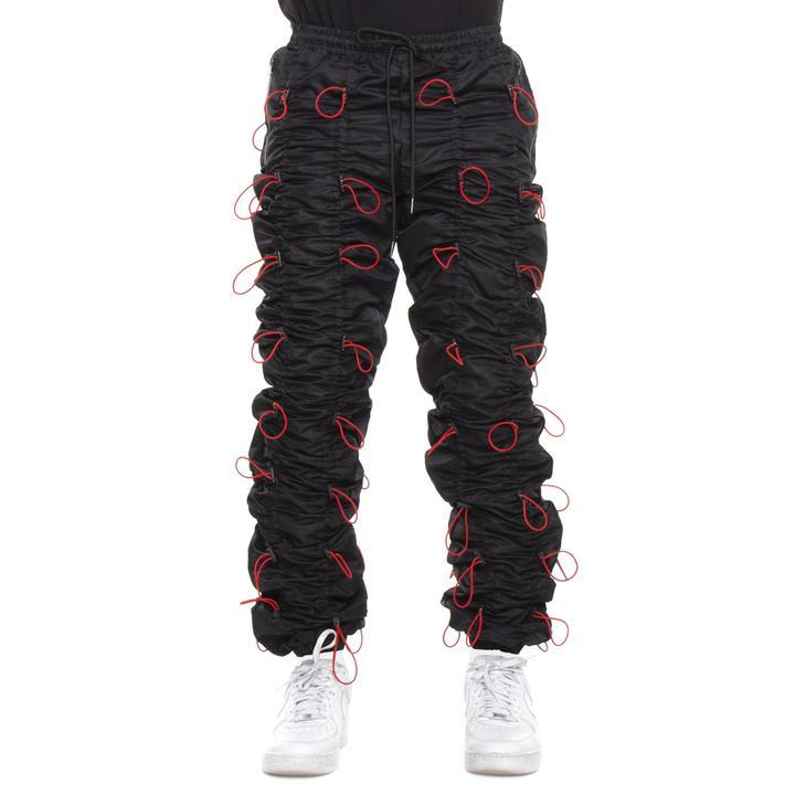 EPTM Accordion Pants (Black/Red)