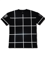 Mare Reflective Grid Tee (Black)