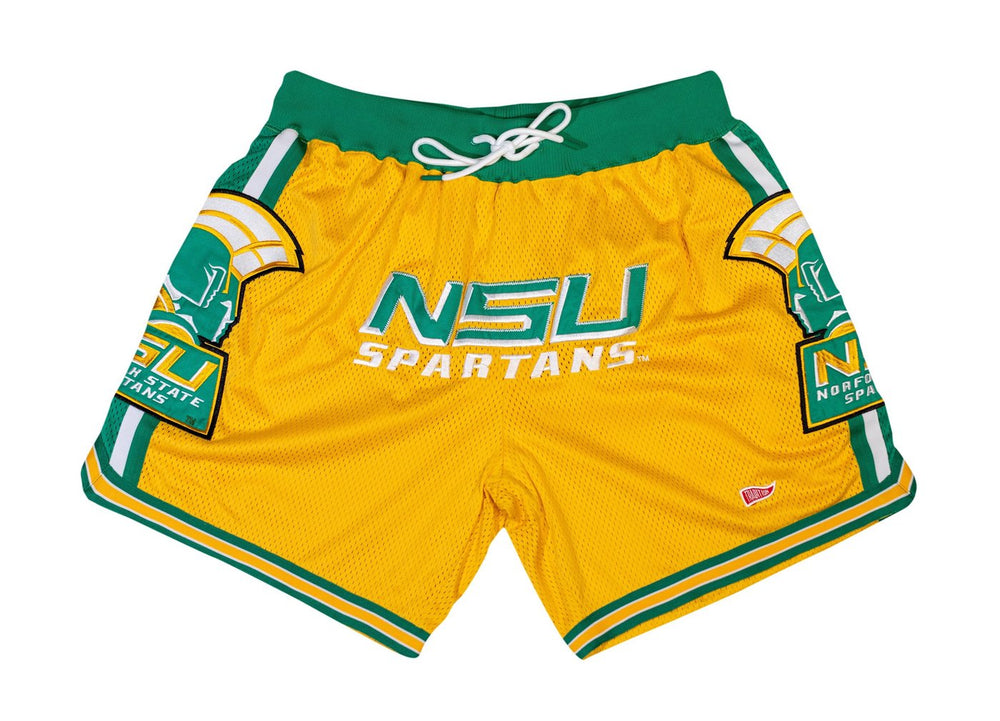 Norfolk State G.O.A.T 2 basketball shorts