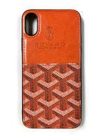 "CaseNerd """"Pocket Go Black"""" iPhone Case (Orange)"