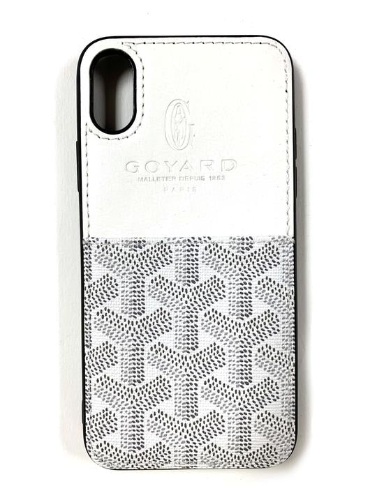 "CaseNerd """"Pocket Go Black"""" iPhone Case (White)"