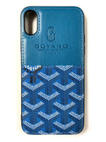 "CaseNerd """"Pocket Go Black"""" iPhone Case (Blue)"