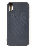 "CaseNerd ""Suede Stamped OFF White"" iPhone Case"