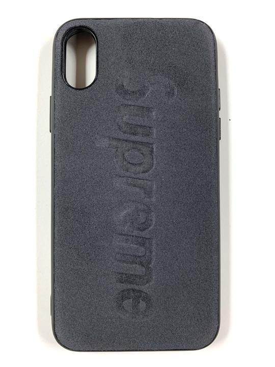 "CaseNerd ""Suede Stamped Supreme"" iPhone Case"