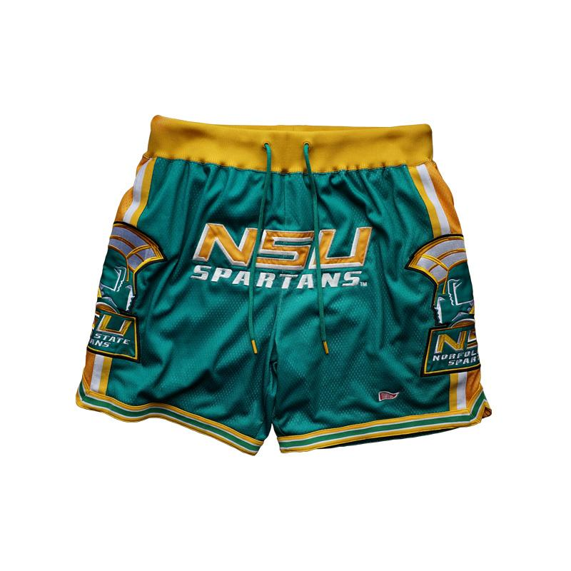 Norfolk State G.O.A.T basketball shorts