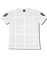 Mare Reflective Grid Tee (White)