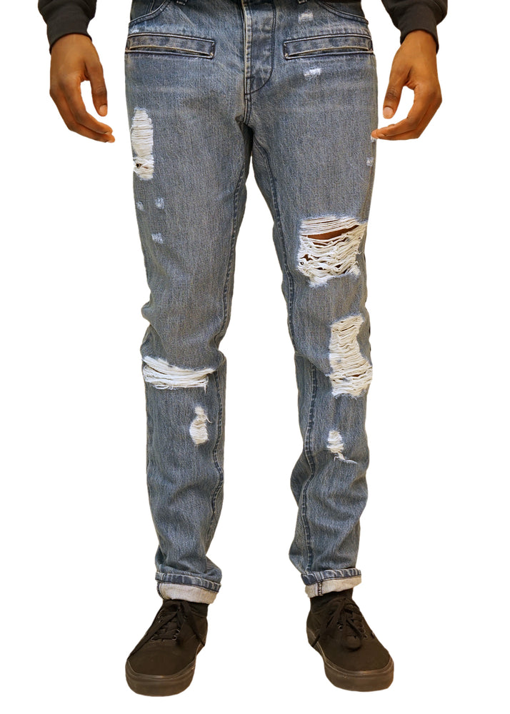 Tomi Moto Jeans Raw (Blue)