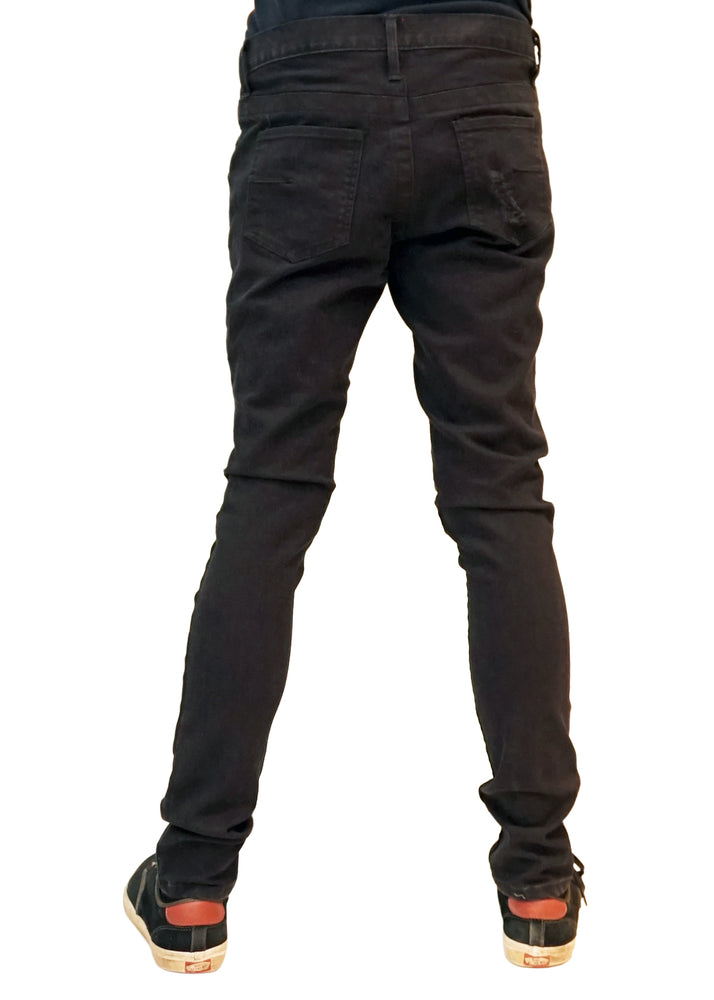 Tomi Moto Jeans Slim Stretch (Black)