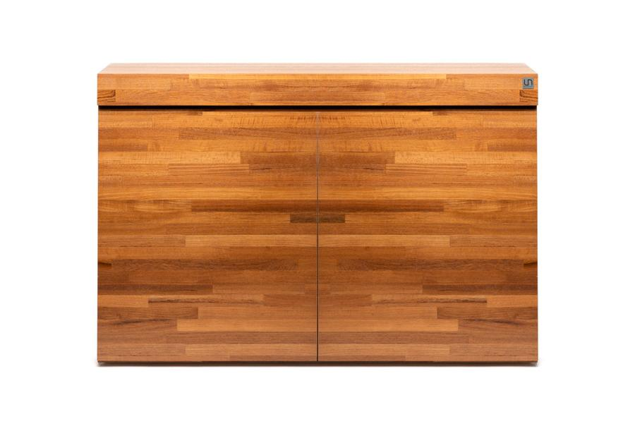 UNS Aquarium Stand - Natural Wood