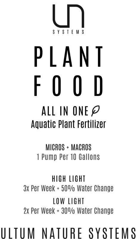 UNS Plant Food All-In-One Aquatic Plant Fertilizer
