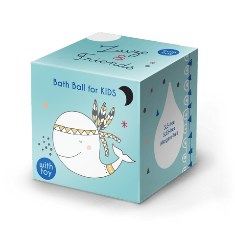 Bath Ball for Kids Blueberry_Zuze and Friends