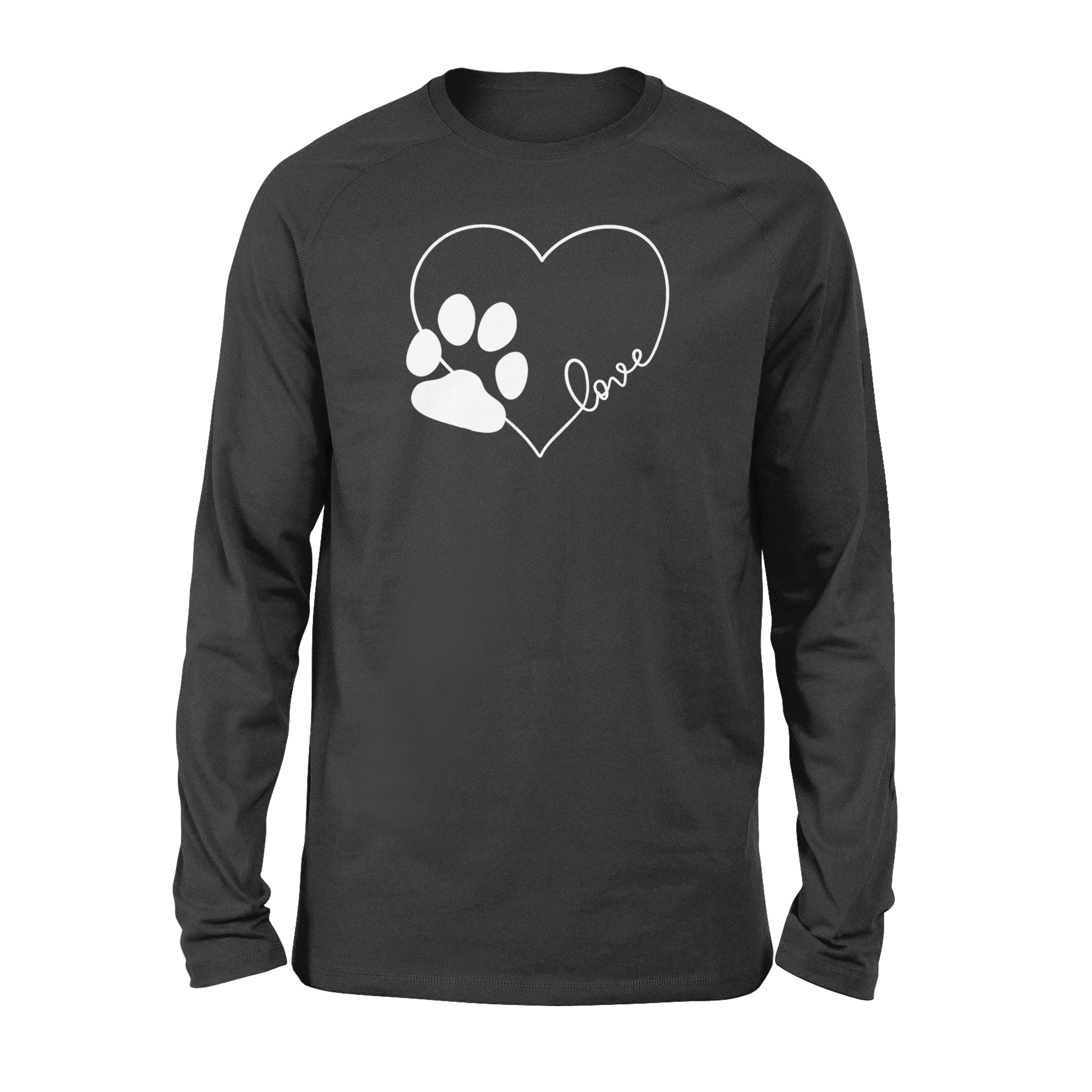 Love Dogs Cute T-shirt – Standard Long Sleeve