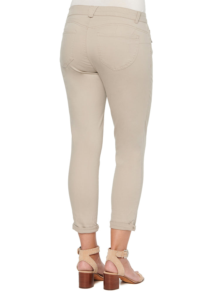 """Ab""solution Ankle Skimmer Colored Pants"