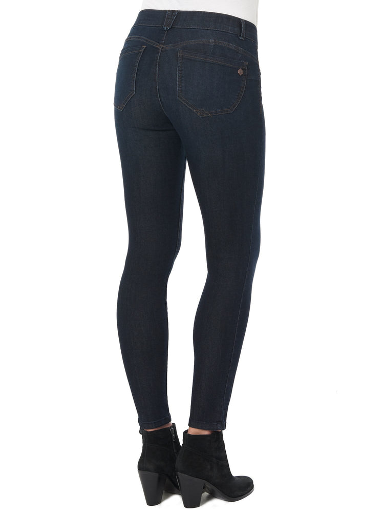 "34"" Inseam Long Indigo ""Ab""solution Jegging"