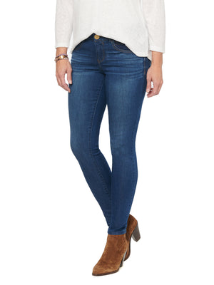"Stretch Blue Denim Jegging ""Ab""solution Booty Lift Skinny Jeggings Jeans"