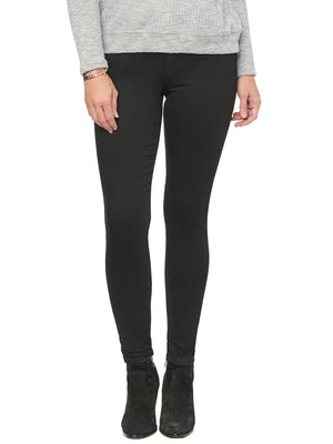 "Load image into Gallery viewer, Stretch Denim ""Ab""solution Booty Lift Stretch Black Denim Jean Jegging Skinny Jeans Jeggings"