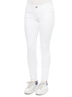 """Ab""solution White Denim Jegging"