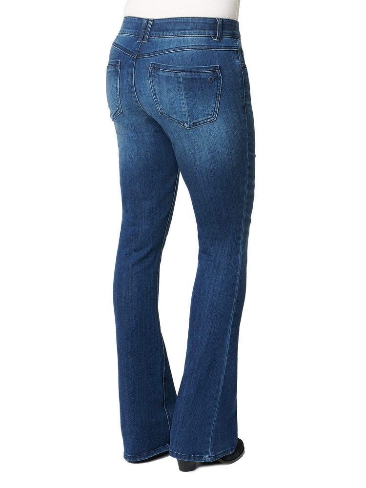 """Ab""solution Itty Bitty Boot Blue Tall Jeans"