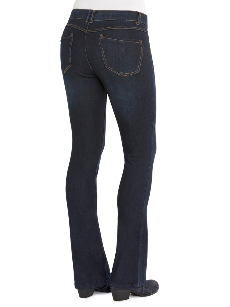 """Ab""solution Indigo Itty Bitty Boot Tall Jeans"