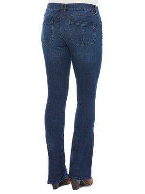 """Ab""solution Itty Bitty Boot Indigo Tall Jeans 34"" Inseam"