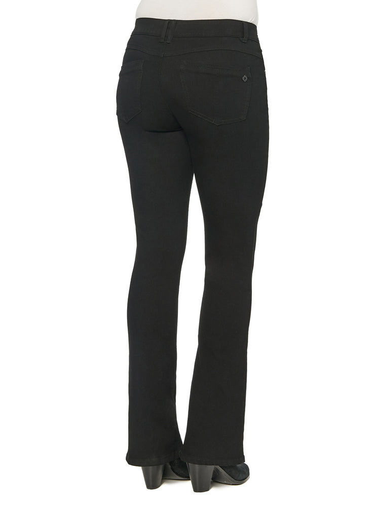 """Ab""solution Itty Bitty Boot Black Jeans"