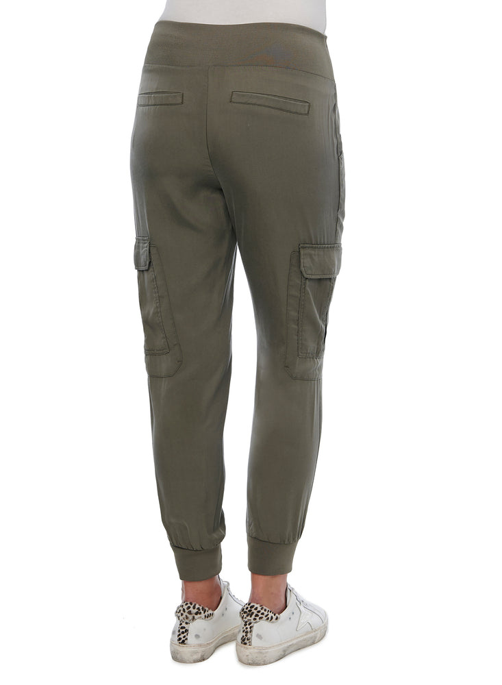 Pull-on Patch Pocket Utility Jogger