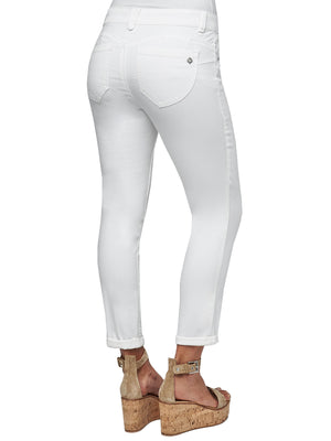 ankle length white jegging