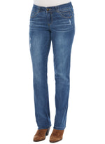 """Ab""solution Blue Straight Leg Tall Jeans 33"" Inseam"